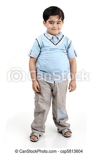 fat kid - csp5813604