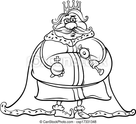 Fat Dog Coloring Page