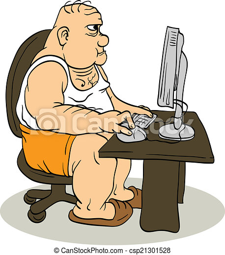https://comps.canstockphoto.com/fat-man-at-the-computer-illustration_csp21301528.jpg