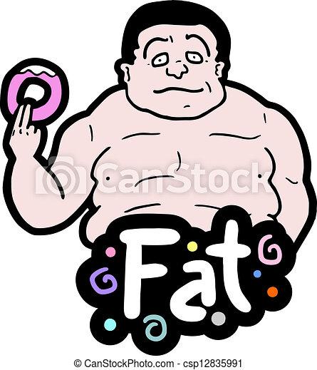 Fat man - csp12835991