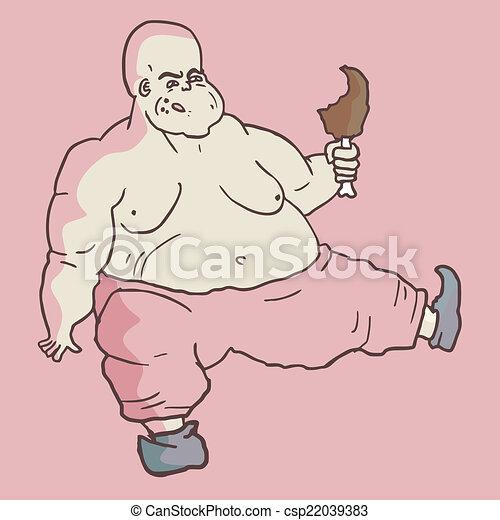 Fat man - csp22039383