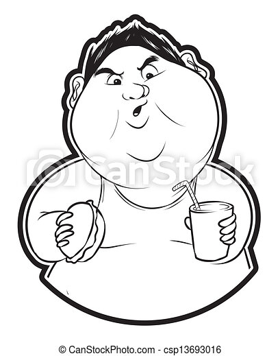 Fat Man Clip Art And Stock Illustrations 9375 Fat Man Eps