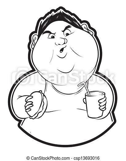 Fat Man Clip Art And Stock Illustrations 9375 Fat Man Eps