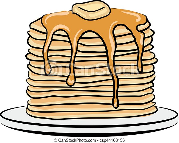 pancake day illustrations and clip art 192 pancake day royalty free rh canstockphoto com  pancake and sausage breakfast clipart