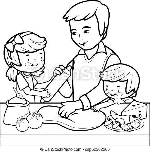 Father's Day Coloring Pages (100% Free) Easy Print PDF | 458x450