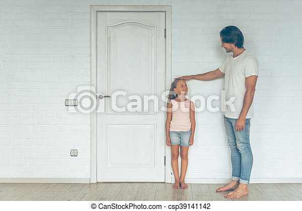 Father and daughter - csp39141142
