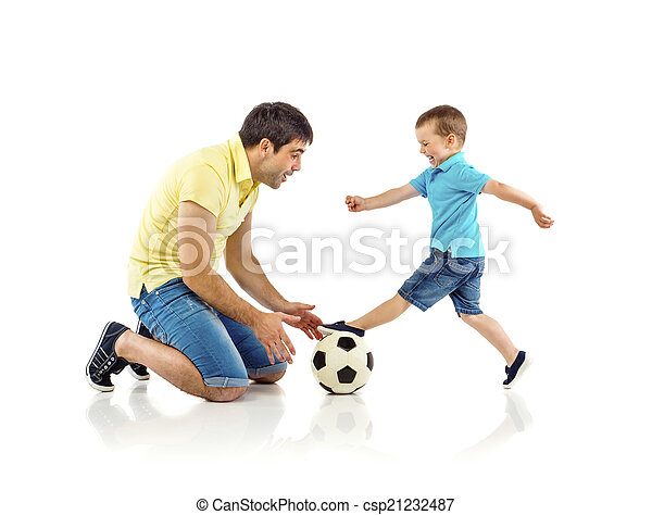 Father and son - csp21232487