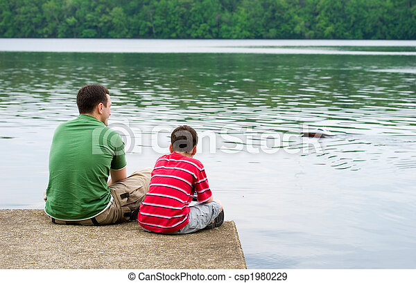 Father and son - csp1980229