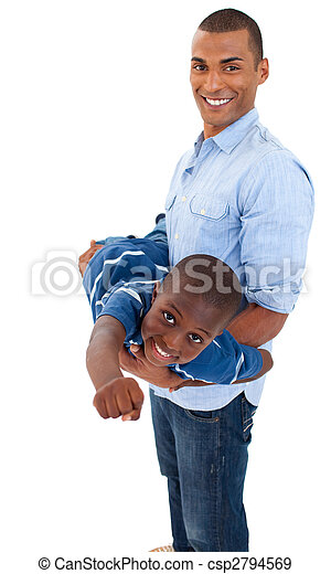 Father playing with his son - csp2794569