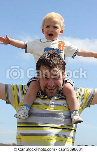 Father & son - csp13896881