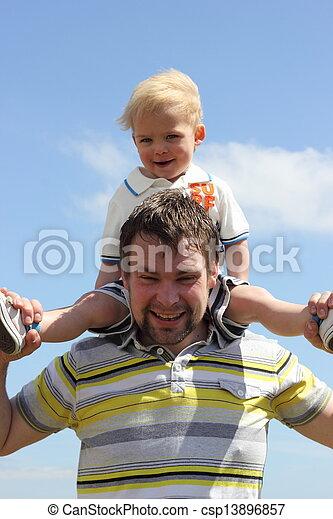Father & son - csp13896857