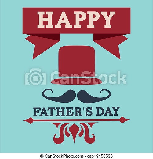 Fathers day design - csp19458536