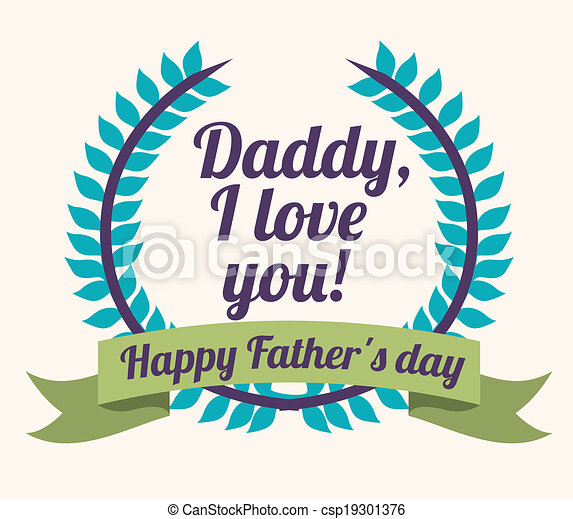 Fathers day design - csp19301376