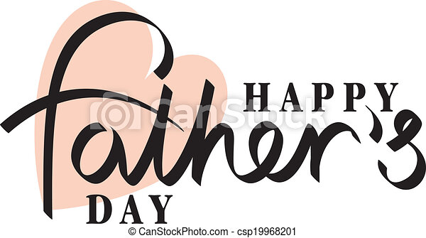 fathers day hand  - csp19968201