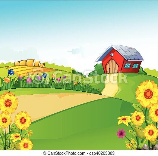 Fattoria bellezza paesaggio fattoria paesaggio for Piani di fattoria tedesca