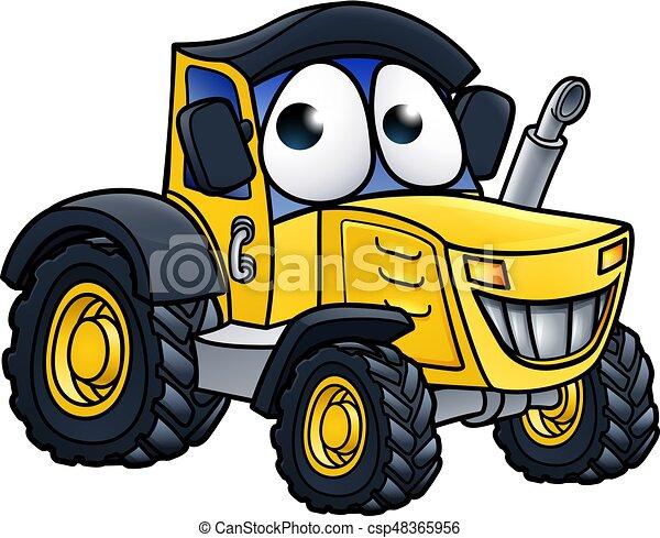 Fattoria carattere cartone animato trattore fattoria for Piani di fattoria stonegate