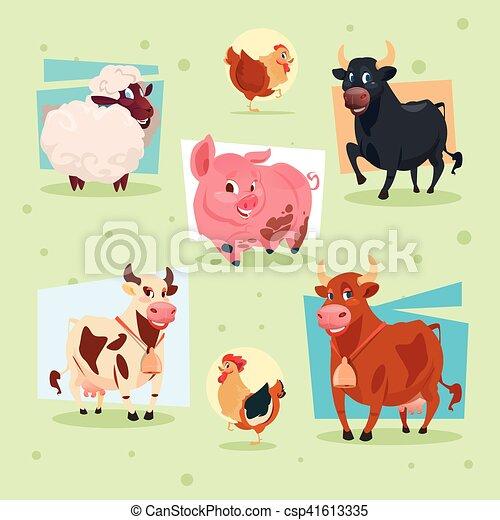 Fattoria domestico allevamento animali icona for Piani di fattoria stonegate