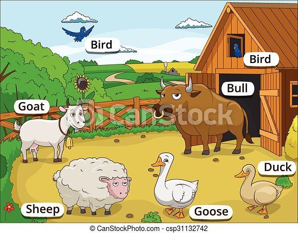 Foto fattoria cartoon immagini e vettoriali