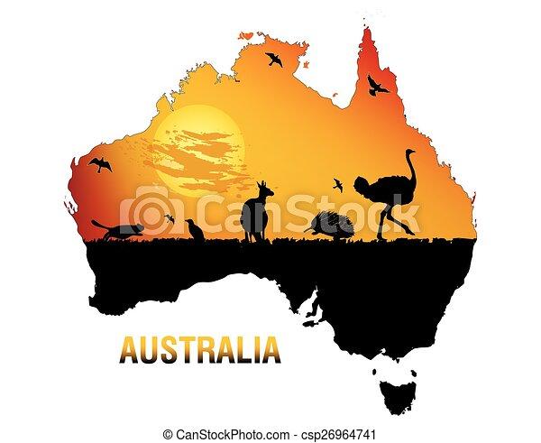 Fauna australia - csp26964741