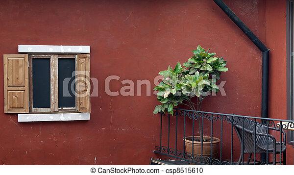 fauteuil balcon porte dehors table porte panorama fen tre bois fauteuil table dehors. Black Bedroom Furniture Sets. Home Design Ideas