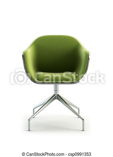 fauteuil, moderne, 3d, rendre - csp0991353