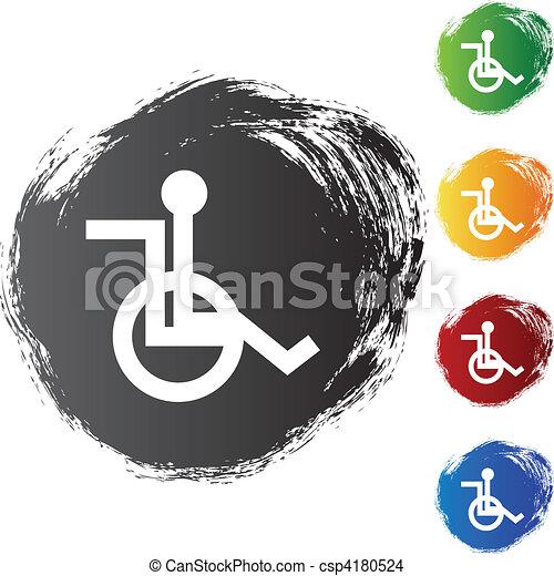 fauteuil roulant - csp4180524