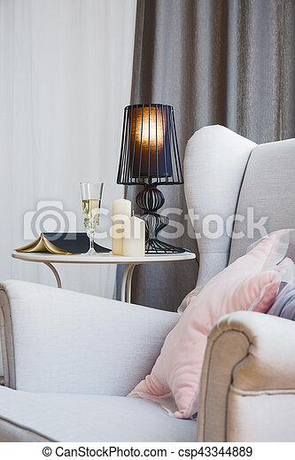 fauteuil, salle - csp43344889