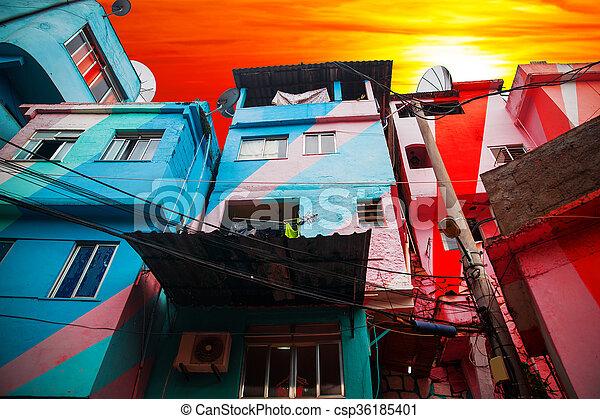 Favela - csp36185401
