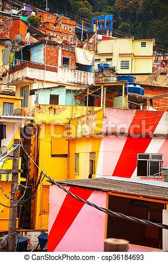Favela - csp36184693