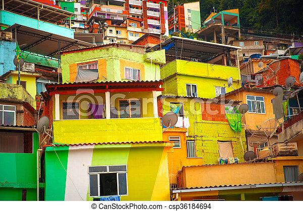 Favela - csp36184694