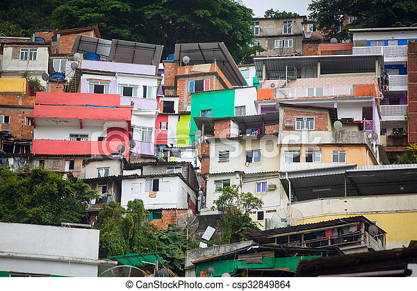 Favela - csp32849864