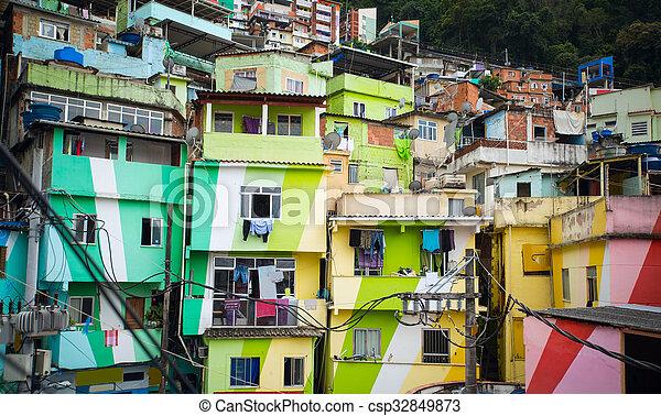Favela - csp32849873