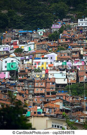 Favela - csp32849978