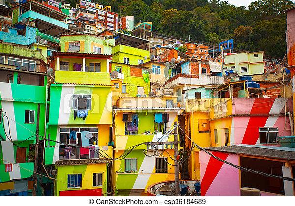 Favela - csp36184689
