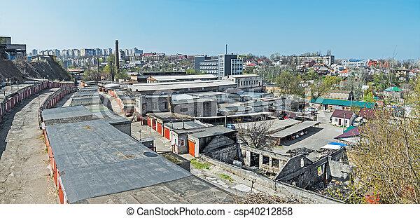 Favela ucraniana - csp40212858