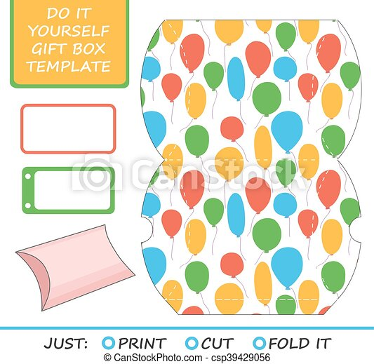 Favor gift box die cut box template great for birthday or favor gift box die cut box template great for birthday or wed solutioingenieria Images