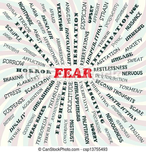 fear - csp13755493