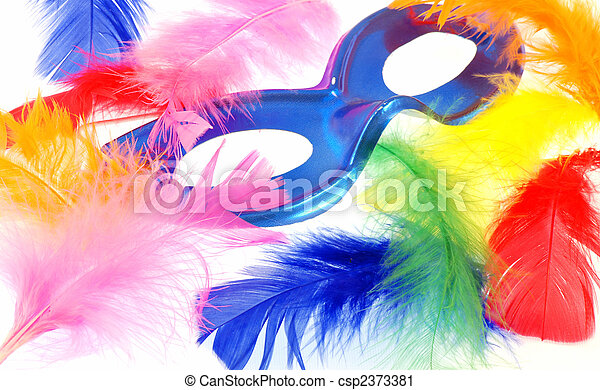 Feather carnival - csp2373381