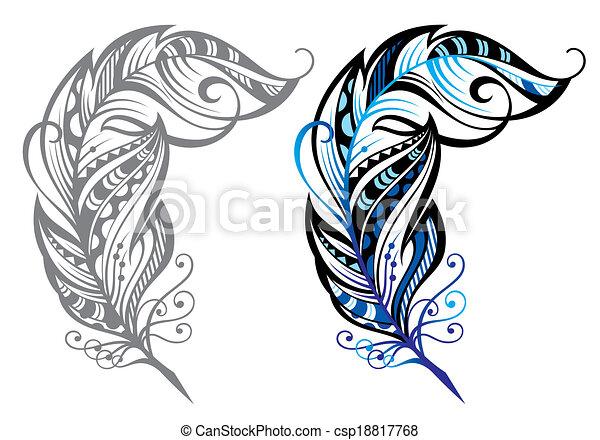 Feathers - csp18817768