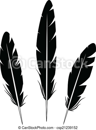 feathers rh canstockphoto com feathers clipart png feather clip art black and white
