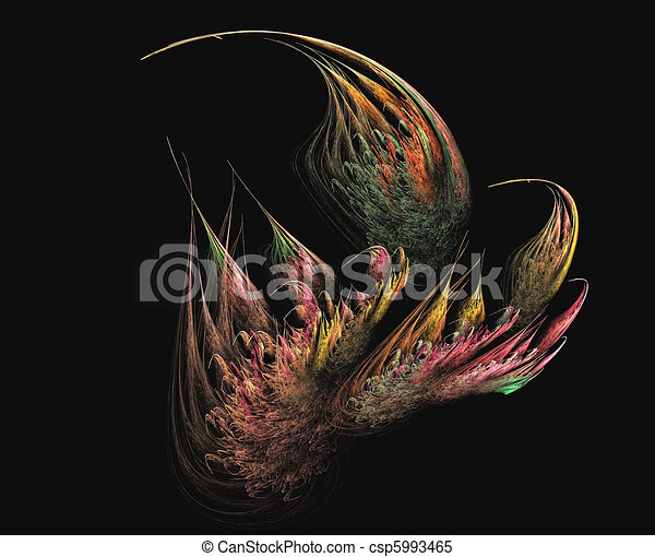 Feathery Fractal Buds - csp5993465