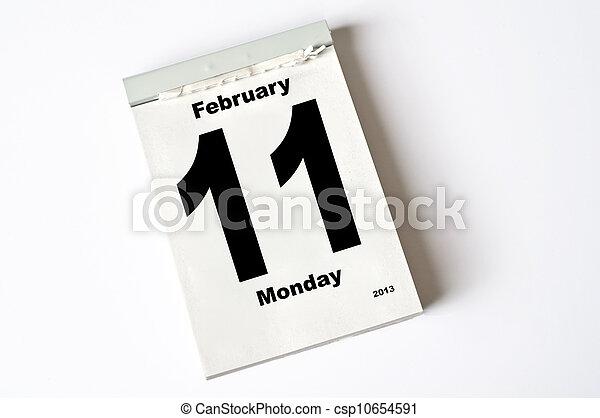 februari, 11., 2013 - csp10654591