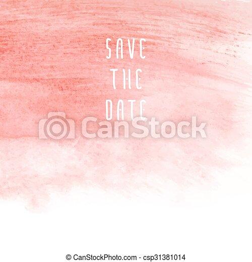 Salva la fecha - csp31381014