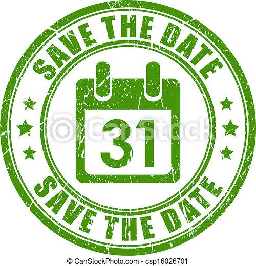 Salva la fecha - csp16026701