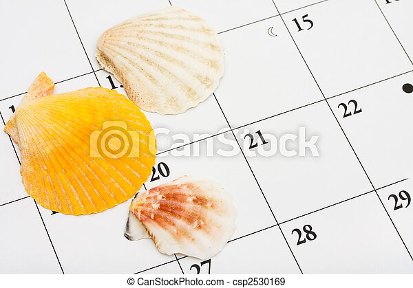 fecha, vacaciones - csp2530169