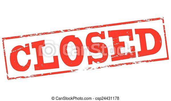 fechado - csp24431178