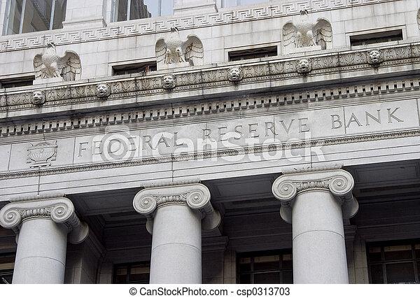 Federal Reserve Facade 1 - csp0313703