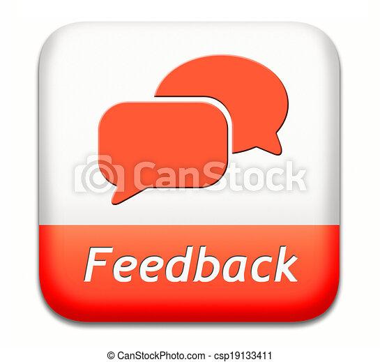 feedback button - csp19133411