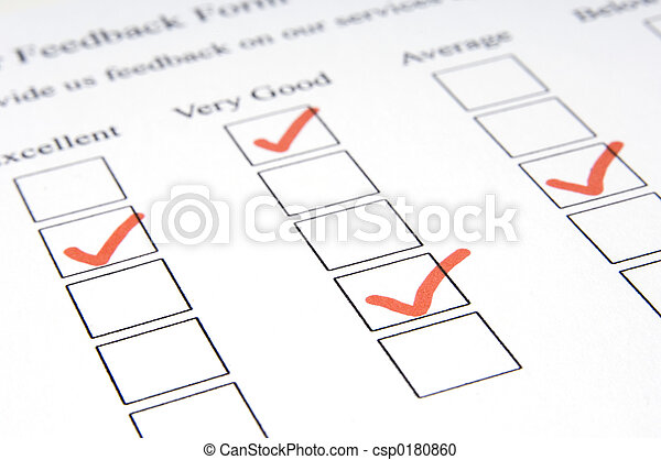 Feedback Form #3 - csp0180860