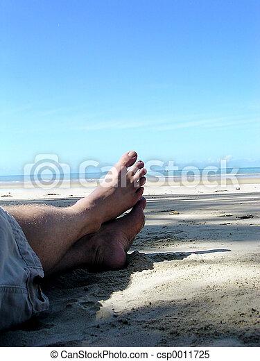 Feet by the Sea! - csp0011725